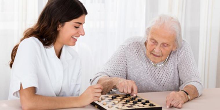 Betreuung von Pflegebedürftigen